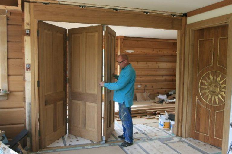 Межкомнатные двери своими руками в домашних условиях