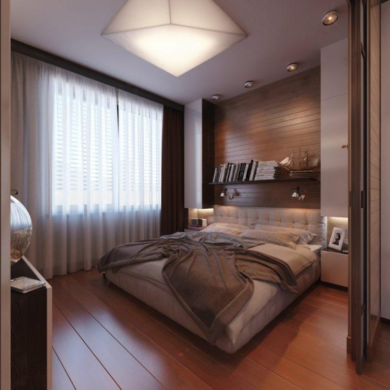Современный ремонт спальне