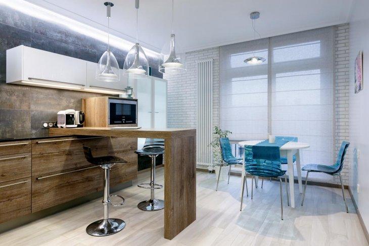 дизайн кухни 2019 года современные актуальные варианты оформления