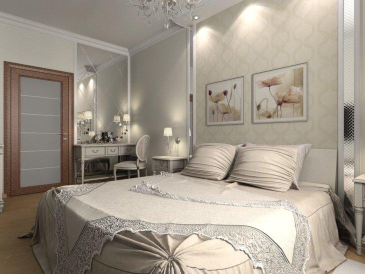 модный дизайн спальни
