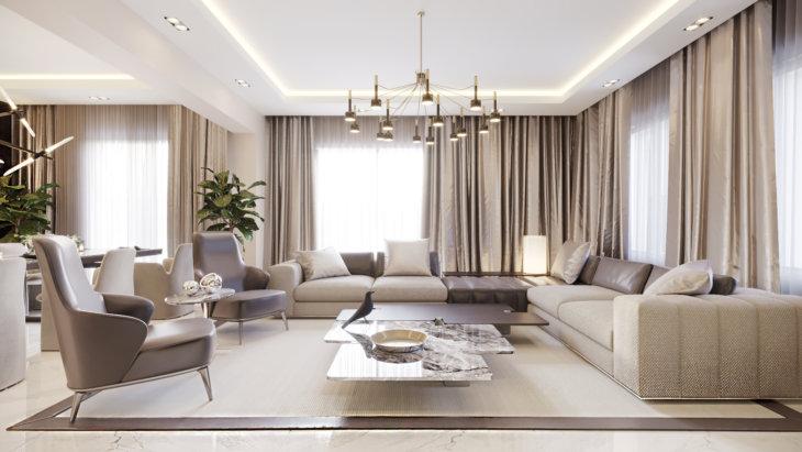 модная мебель для гостиной