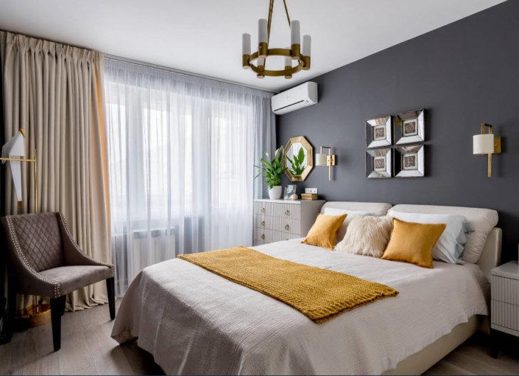 Современный дизайн спальни 1