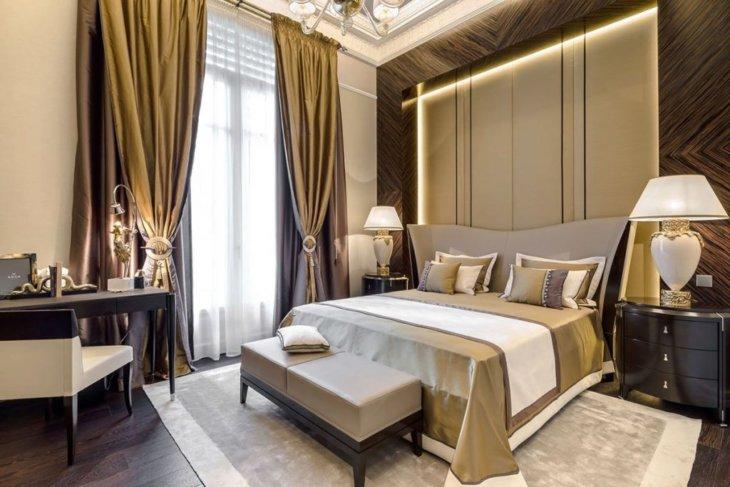 Дизайн спальни в панельном доме