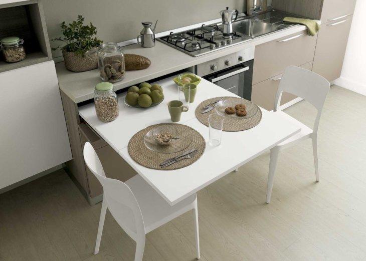 раздвижной стол на кухню