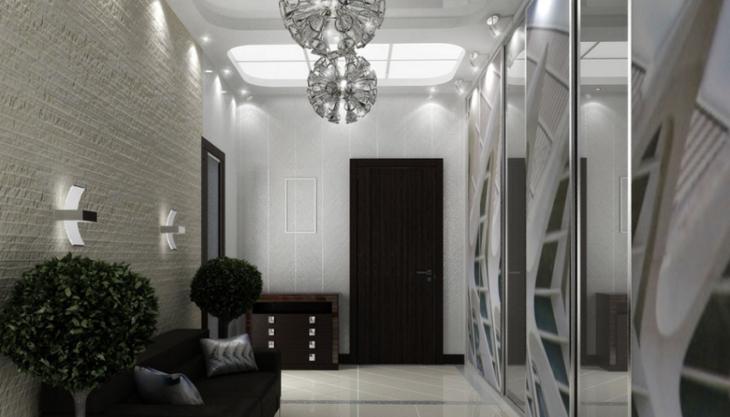 идеи дизайна интерьера коридора