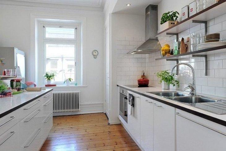 красивые кухни +в квартирах дизайн