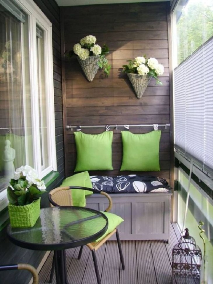дизайн балкона в квартире в панельном доме
