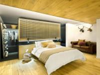 Cпальня в стиле лофт — 88 фото ультрамодного смешанного стиля