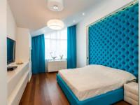Спальня с голубым оттенком — 71 фото шикарных и спокойных сочетаний