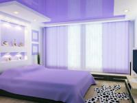 Натяжной потолок в спальне — стильно, романтично, завораживающе (87 фото + видео)
