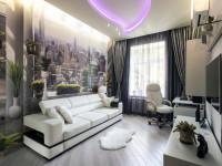 Шторы в стиле Хай-Тек — модный формат для жилой комнаты. Как грамотно использовать передовые технологии (86 фото + видео)