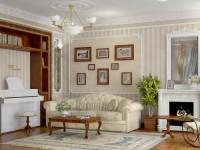 Декор в гостиной: красивое и уникальное оформление визитной карточки дома (67 фото)