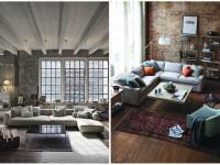 Гостиная в стиле лофт: как сохранить баланс между лаконичным и эксклюзивным дизайном?  (79 фото-идей)