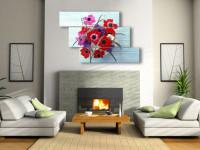 Картины для гостиной: лучшие варианты современного формата украшения (66 фото-идей)