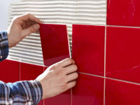 Отделка стен плиткой — правила, главные особенности и инструкции для новичков. 55 фото пошаговой укладки