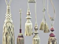 Подвязки для штор (89 фото) — детализированное украшение и придание роскоши простым и стильным гардинам