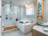 Раздвижные шторы для ванной: от современных штор до стеклянных дверей! 87 фото лучших идей