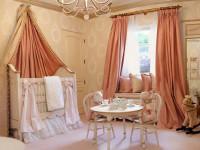 Шторы в детскую комнату — яркое и безопасное украшение для мальчиков и девочек (64 фото-идей)