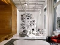 Шторы в стиле лофт: идеи, декор, оформление и 72 фото примеров использования