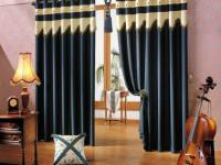 Синие шторы — 62 фото лучших простых и стильных занавесок и портьер
