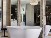 Зеркало в ванную комнату: правила оформления и установки (73 фото + видео)