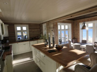 Кухня в частном доме: 95 фото лучших идей дизайна 2017 года
