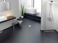 Наливной пол в ванной комнате: лучшие варианты реализации. 65 фото оформления пола