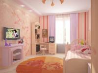 Обои в детскую: цветные, яркие и веселые мотивы (86 фото-идей)