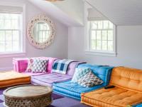 Дизайн гостиной 2018 года — варианты идеального зонирования и стильного оформления (100 фото новинок)