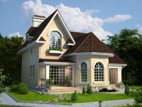 Частный дом 150 кв. м. — современные типовые проекты для домов коттеджей (140 фото и видео)