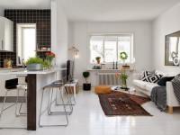 Квартира 46 кв. м. — лучшие идеи оформления стильного интерьера и варианты функциональной планировки (75 фото)