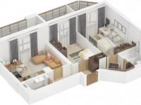 Квартира 70 кв. м. — идеи лучших сочетаний и советы по выбору проекта. 130 фото вариантов дизайна и советы по их реализации