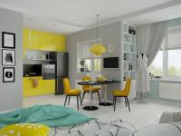 Квартира-студия — секреты планировки, современные тренды и идеи применения лучших вариантов дизайна