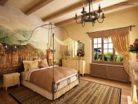 Спальня в доме: красивый дизайн интерьера и рекомендации по выбору стиля оформления (90 фото)