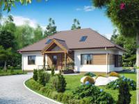 Одноэтажный дом — выбор лучших проектов и примеры дизайна интерьера и экстерьера (115 фото)