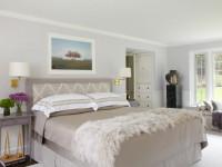 Cпальня в светлых тонах: белая иллюзия пространства + фото