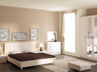 Спальня бежевого цвета – 90 фото нежного и яркого интерьера