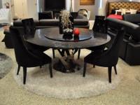 Круглый стол – фото примеров которые красиво выглядят в интерьере
