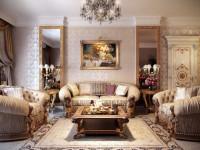 Гостиная в классическом стиле: лучшие проекты, создание атмосферы, правила дизайна (66 фото)