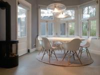 Круглый стол на кухню: самые стильные и роскошные идеи (56 фото)