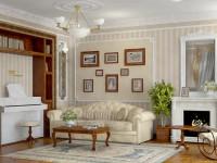 Какие клеить обои в гостиной: ценные советы и стильные идеи от дизайнеров (81 фото + видео)
