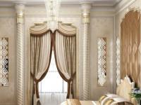 Шторы в классическом стиле – самые лучшие роскошные предложения для дизайна. 75 фото оригинальных идей