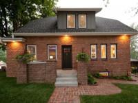 Дом из кирпича: нюансы и особенности применения современных видов кирпичей (110 фото)