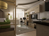 Квартира 20 кв. м. – советы по подбору дизайна, особенности размещения мебели и варианты оформления (125 фото)