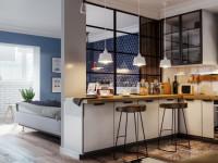 Квартира 60 кв. м. – оригинальные идеи ремонта, дизайна и перепланировки. 120 фото стильного оформления и украшения