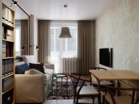 Маленькая квартира – идеи красивых вариантов интерьера, обзор стильных и функциональных решений дизайна (110 фото)