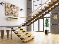 Межэтажные лестницы – варианты дизайна и особенности применения стильных лестниц в частном доме (95 фото)