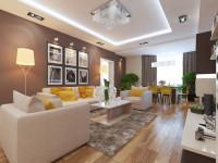Трехкомнатная квартира – 145 фото идей дизайна, варианты зонирования и оригинальные решения при оформлении