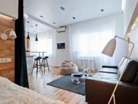 Квартира 40 кв. м. – советы по выбору дизайна, особенности зонирования и варианты оформления