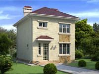 Частный дом 8 на 8 – планировка, оформление и 105 фото лучших готовых проектов домов